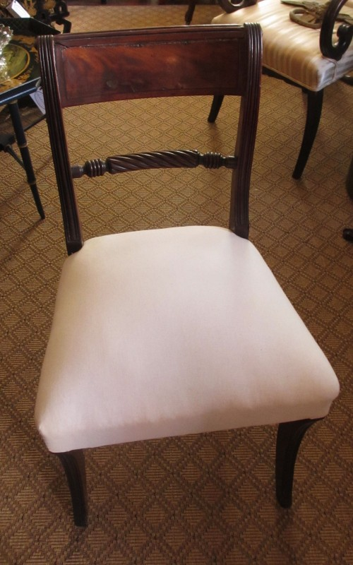 c1820 Philadelphia Klismos Style Regency Side Chair, 3 available