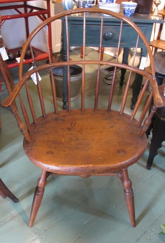 1760 American Hudson Valley Windsor Chair...