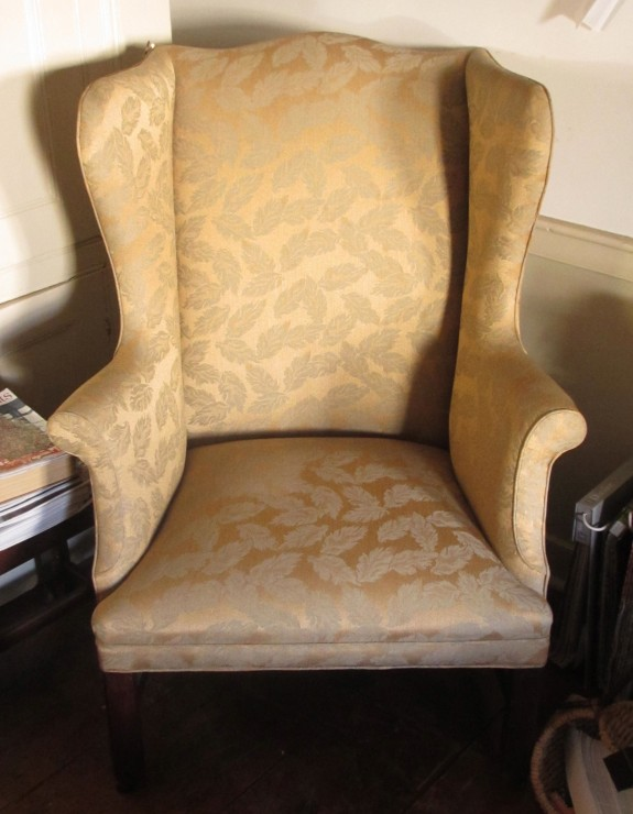 19th Century American Wing Back Arm Chair