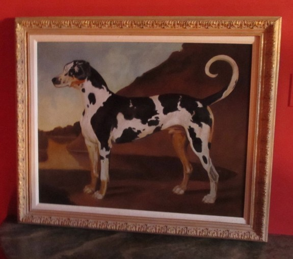 Bartsch Oil, Portrait of Dog