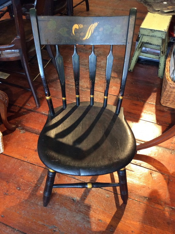 Set of 6, c1830 American Arrow Back Windsor Chairs, 19th Century, Antique
