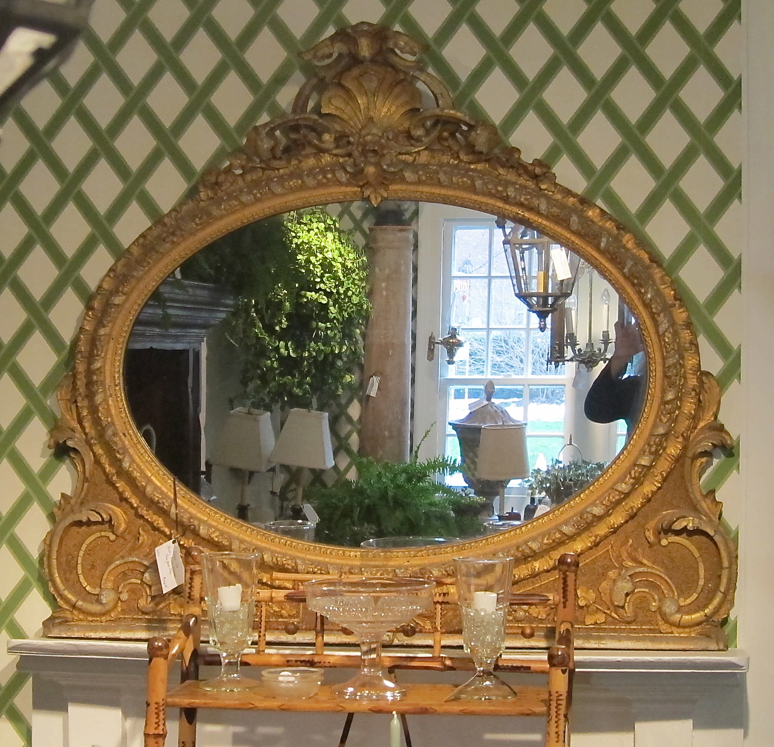 Antique Mirror at Bertolini & Co. in Warwick, NY